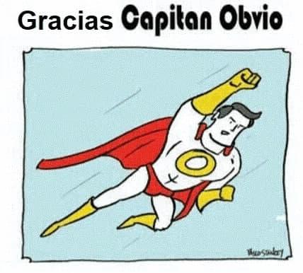 Foto ilustrativa: Capitán Obvio seguro que entiende tu mala suerte en el amor.